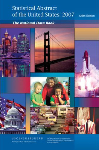 Statistical Abstract of the United States 2007–complete PDF | The ...